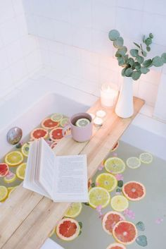 DIY: bath caddy...