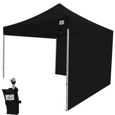 Impact Canopy 10 X 10 EZ Pop up Canopy Tent Gazebo Bundle with Matching Sidewalls * For more information, visit image link.