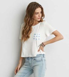 AEO Soft & Sexy Pocket T-Shirt