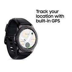 Samsung Gear Frontier Smartwatch (Bluetooth), – US Version with Warranty: Cell Phones & Accessories Wearable Technology, Digital Technology, Smartwatch Bluetooth, Samsung Gear S3 Frontier, Latest Smartphones, Smart Bracelet, Stainless Steel Case, Cool Watches, Cell Phone Accessories