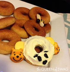 Gluten Free Mini Honey Doughnuts Recipe Inspired By Winnie The Pooh!