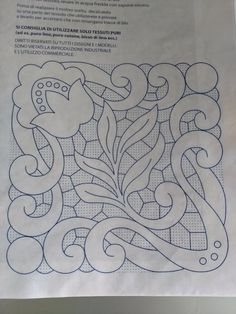 Cutwork Embroidery, Vintage Embroidery, Embroidery Stitches, Embroidery Patterns, Flower Sketches, Needle Tatting, Cut Work, Crochet Lace, Diy Fashion