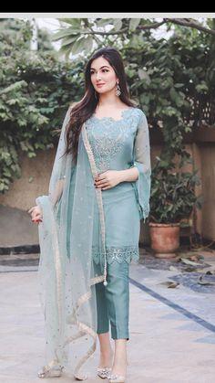Diy Belt For Dresses, Sleeves Designs For Dresses, Stylish Dresses For Girls, Frocks For Girls, Stylish Dress Designs, Party Wear Dresses, Beautiful Pakistani Dresses, Pakistani Formal Dresses, Pakistani Dress Design