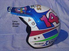 1988 Troy Lee Designs Shoei Helmet of Larry Brooks   Flickr - Photo Sharing!