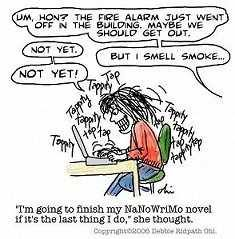 So how are you doing with NaNoWriMo this year so far?! I wish I could say that things are on a roll and that I'm on track to finish, but sadly, I've at least 5,000 words behind. I have been that ...
