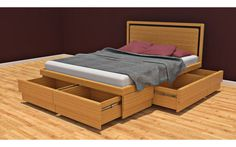 Double and King Size Boxer Storage Beds Online