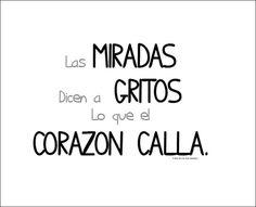 L q l 💓 calla! Favorite Quotes, Best Quotes, Love Quotes, Inspirational Quotes, Romantic Quotes, Motivational, Quotes En Espanol, More Than Words, Spanish Quotes