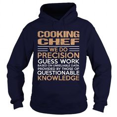 COOKING CHEF T Shirts, Hoodies, Sweatshirts. CHECK PRICE ==► https://www.sunfrog.com/LifeStyle/COOKING-CHEF-94509041-Navy-Blue-Hoodie.html?41382