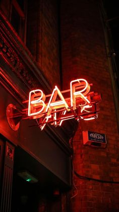 Neon sign photography ART sign red neon lights reflection urban architecture city photography art school art print the word art Red Aesthetic Grunge, Orange Aesthetic, Aesthetic Colors, Aesthetic Photo, Aesthetic Dark, Aesthetic Vintage, Aesthetic Gif, Neon Wallpaper, Aesthetic Iphone Wallpaper