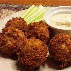 ... Blue Cheese Dip! ★ Buffalo Chicken Dipping Balls ★ allrecipes.com