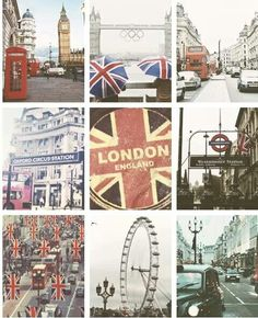 London: hopefully one day I'll be able to say I've been there.