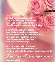 Reminder Quotes, Doa, Allah, Pink, Inspiration, Biblical Inspiration, Pink Hair, Roses, Inspirational
