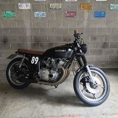 #Suzuki #gs500 build from @m2_garage . Well done! -----—----------------------- Tag #caferacerporn @caferacerporn or email your cafe racer related photos to caferacerporn@gmail.com Apparel available at www.Motochopshop.net . #caferacers #supporttheindependents #tonup #builtnotbought #caferacer #motorcycles