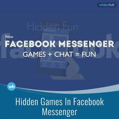 3 hidden games in Facebook messenger  Details: http://whizzyhub.com/hidden-games-in-facebook-messenger/ #facebook #messenger #viral #games #fb #new #latest #soccer #basketball #chess #play #ca