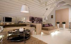 освещение комнат на мансарде - Поиск в Google