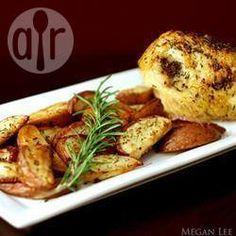 Crispy rosemary chicken and chips @ allrecipes.co.uk