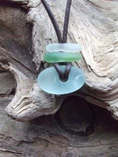Unisex Surfers Scottish Sea Glass Necklace by byNaturesDesign, $10.00