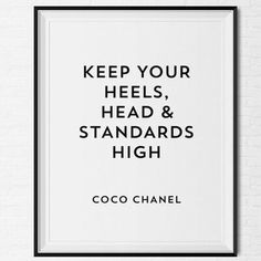 Keep your heels, head & standards high #Dogeared #ShareTheHappy