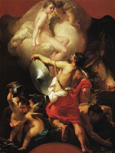 Vénus dans la forge de Vulcain, par Gaetano Gandolfi