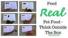 K9sOverCoffee | Feed Real Pet Food Think Outside The Box