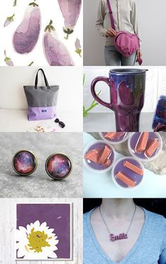 Purple Passion Power by Kimberly Kling on Etsy--Pinned with TreasuryPin.com