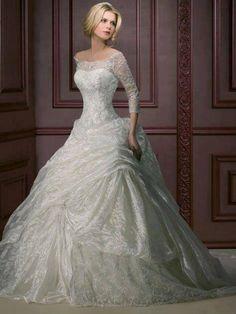 Wedding dress ...