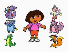 Crafting with Meek: Dora the Explorer SVG