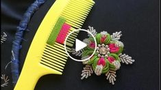 Easy sewing hacks are readily available on our web pages. look at this and you wont be sorry you did. Hand Embroidery Videos, Hand Embroidery Flowers, Hand Embroidery Stitches, Hand Embroidery Designs, Beaded Embroidery, Embroidery Patterns, Sewing Hacks, Sewing Tutorials, Sewing Tips