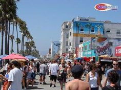 "Venice Beach, California is a great place to people watch.  Definitely filled with ""creative"" folks!"