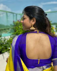 Pattu Saree Blouse Designs, Fancy Blouse Designs, Kurti Designs Party Wear, Actresses, Frocks, Braid, Cherry, Designers, Blouses