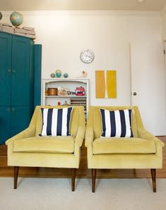 Little Green Notebook: Jordan's Living Room (inspiration for chairs)