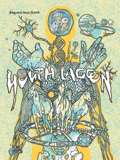 Youth Lagoon poster by Gregg Gordon http://jungleindierock.tumblr.com/post/52149111511/youth-lagoon-poster