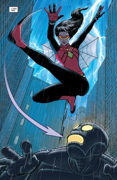 click for super-sized previews of Spider-Woman (2014-) #5