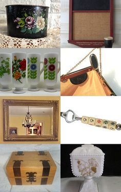 Fall Vintage Loves  by Miss Susanne on Etsy--Pinned with TreasuryPin.com