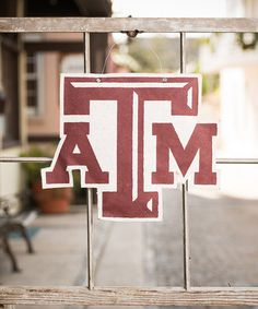 Take a look at this Texas A&M Logo Burlap Wall Hanging by Glory Haus on #zulily today!