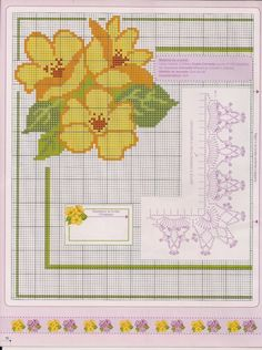 Cross Stitch Rose, Cross Stitch Borders, Cross Stitch Flowers, Cross Stitch Designs, Cross Stitching, Cross Stitch Patterns, Chicken Scratch, Diy And Crafts, Projects To Try