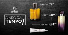 #BLACKFRIDAY #NATURA AINDA DÁ TEMPO DE PEGAR 50% DE DESCONTO EM PRODUTOS SELECIONADOS