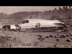 USS Shenandoah Airship crash site with scores of onlookers on site.  There are 27 other photos of the airship on this link.