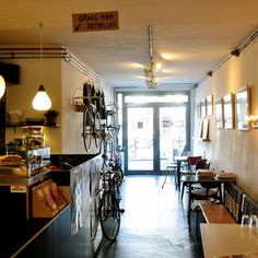 Blackbird Coffee on the Oudegracht - stop by for coffee and sweet stuff.