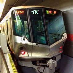 Tsukuba Express Line for Moriya at TX Akihabara Station