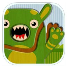 Actividades para Educación Infantil: SEMANA DE LA APP 6. Cutie Monsters Jigsaw Puzzles