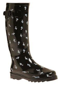 Terrier Firma Rain Boots (I want them!)