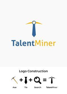 An online platform that has a database of thousands of jobs contest Tech Companies, Logo Design, Company Logo, Platform, Construction, Logos, Building, Logo, Heel