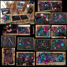 "Firework transient art on cheap placemats from Rachel ("",)"