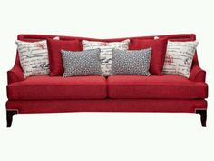 Paris red sofa