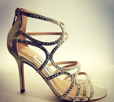 Strappy Jimmy Choo covered in bling