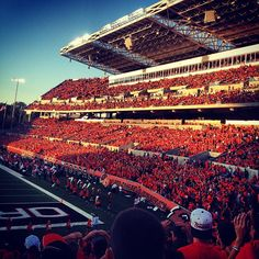 Reser Stadium at Oregon State University in Corvallis, Oregon. Photo by @maddei.