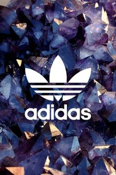 Adidas logo wallpaper gold                              …