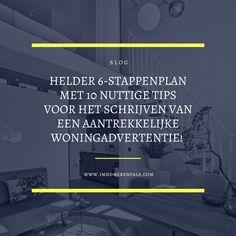#verhuur #woning #vastgoed #woningverhuur #verhuren #huizen #makelaar #realestate #utrecht #tips #adverteren #schrijven Utrecht, Tips, Blog, Blogging, Counseling