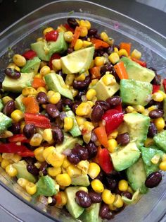 "cookingincombatboots: "" Guacamole Salad 
